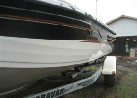 Aluminum Boat Repair and Storm Damage After