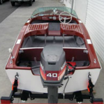 16′ 1956 Glaspar Runabout After
