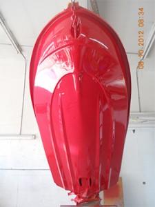 Storm Damage Boat Repair