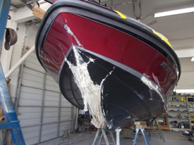 Collision Boat Repair