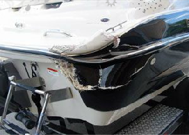 Cracked Fiberglass Boat Repair