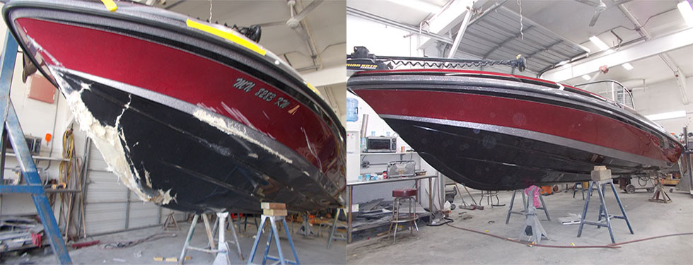 Fast Boat Body Damage Insurance Repair