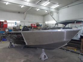 Aluminum boat repair epoxy