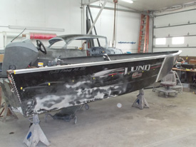 Lund Rebel XL SS Aluminum Collision Repair During 5