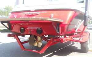 Propeller mount repairs