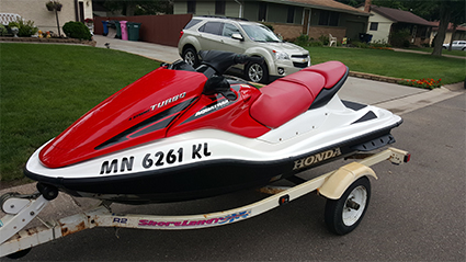 Minneapolis/St Paul Jet Ski Storage