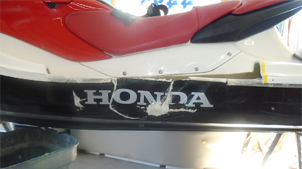 Damaged Jetski Repairs MN