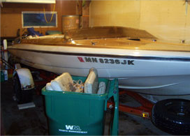 Before Boat Repair